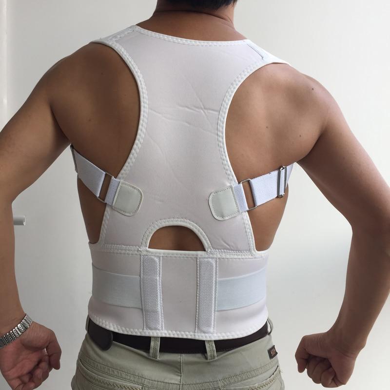 Posture Support Spine Belts Back Posture Corrector Men Women Magnetic Brace Shoulder Support Adjustable Belts Back Brace Corsets