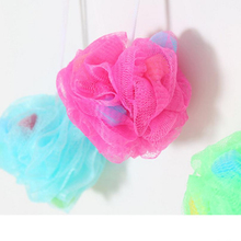 Bath color ball Large color bath sponge bath flower bath rub back