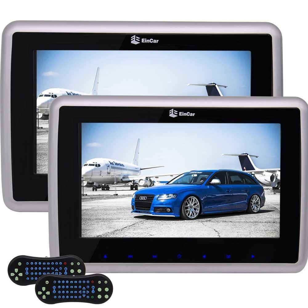 9Tablet Style Car Headrest DVD Player x2 Touch Button Pair Car Monitor Built-in Speaker FM Transmitter HDMI Input 32 Bits Game9Tablet Style Car Headrest DVD Player x2 Touch Button Pair Car Monitor Built-in Speaker FM Transmitter HDMI Input 32 Bits Game