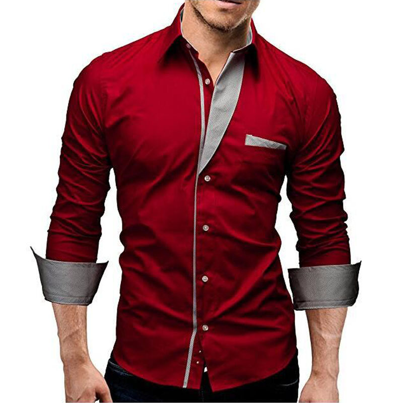 a54115822f6 LeeLion 2018 New Spring Striped Shirt Men Long Sleeves Dress Shirts Men s  Casual Slim Fit Camisa Masculina White Chemise Homme-in Casual Shirts from  Men s ...