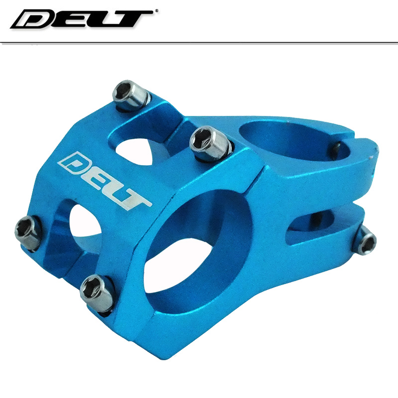 "Bicycle Short 40mm Stem 28.6mm or 1-1//8/"" to 25.4mm Cycling Handlebar BMX BLUE"