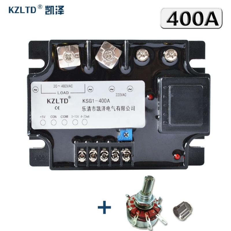 KZLTDเดี่ยวเฟสโซลิดสเตรีเลย์400A MA VDC 0 10VDCเพื่อ20 480โวลต์ACโมดูลควบคุมแรงดันไฟฟ้า400A SSRรีเลย์R Elais-ใน รีเลย์ จาก การปรับปรุงบ้าน บน AliExpress - 11.11_สิบเอ็ด สิบเอ็ดวันคนโสด 1