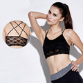 2 Colors Women's Sexy Modal Lace Bralette Cross Strap Chest  Comfortable Seamless Active Lady's Bow Lace Sexy Bra Wire Free
