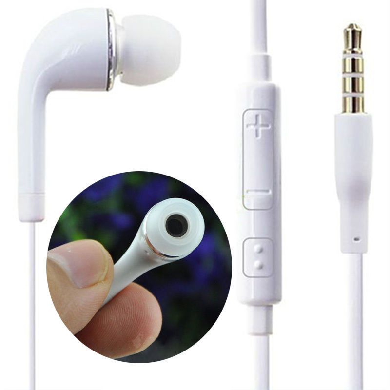 hot 3.5mm Earphone Earbud Headset with Mic for Samsung Galaxy S4 S5 S6 Note 5 s6 3 5mm in ear earphones headset with mic volume control remote control for samsung galaxy s5 s4 s7 s6 note 5 4 3 xiaomi 2