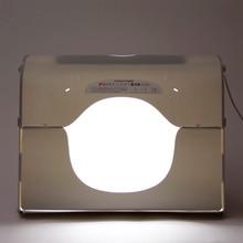Envío de DHL SANOTO softbox photo studio photography caja de luz portátil mini caja de la foto MK60-LED para 220 / 110 V ue ee.uu. reino unido AU