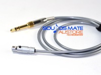 Replacement Audio Upgrade 5N OCC Cable For SHURE SRH 840 940 440 750 Headphone 1.5M 5M Custom Wire Length