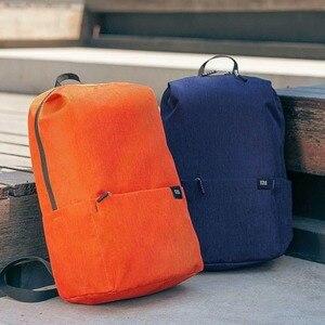Image 2 - Oryginalny Xiao mi kolor mały plecak 10L duża pojemność torba przeciw wodzie mi 8 miłośników kolorów para plecak dla studenta Younth Man