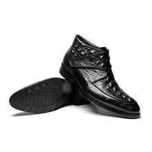 Mens Crocodile Ankle Boot
