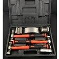 7 шт.  набор инструментов для ремонта кузова и крыла из листового металла  набор инструментов для ремонта автомобиля  набор молотков из листо...