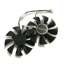2pcs/lot video cards cooler GTX 1070 GPU fan For zotac GTX1070 MINI Graphics Card cooling