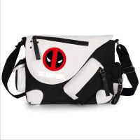 WILD HERO Deadpool Comics Super Hero Shoulder Bag Messenger Bag teenagers Men women's Student travel School Bag Laptop Bags