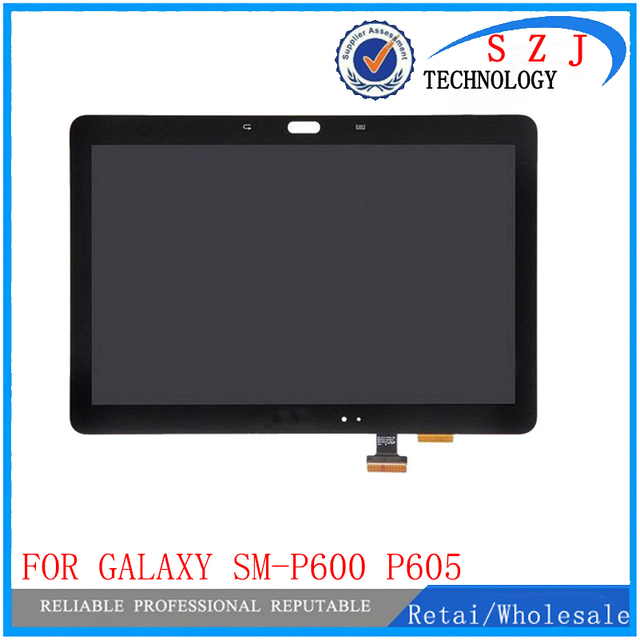 New 10.1 inch case For Samsung Galaxy Note 10.1 SM-P600 P605 P600 LCD Display Touch Screen Digitizer Glass Assembly LCD combo