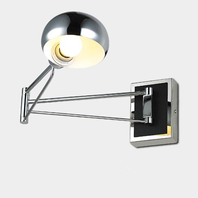 led wandleuchte moderne led wandleuchten f r wohnzimmer schaukel arm wandleuchte mit schalter. Black Bedroom Furniture Sets. Home Design Ideas