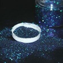 Хамелеон блестящий порошок Лазерная Голография зеркало хром пигмент пыль голографический ногтей пайетками декоративный для маникюра DIY
