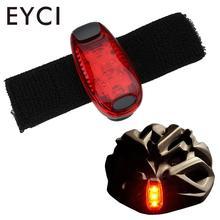 EYCI красный велосипедный светильник Предупреждение ющий светильник, велосипедный задний светильник с кнопкой s, в комплекте, светодиодный велосипедный фонарь для бега