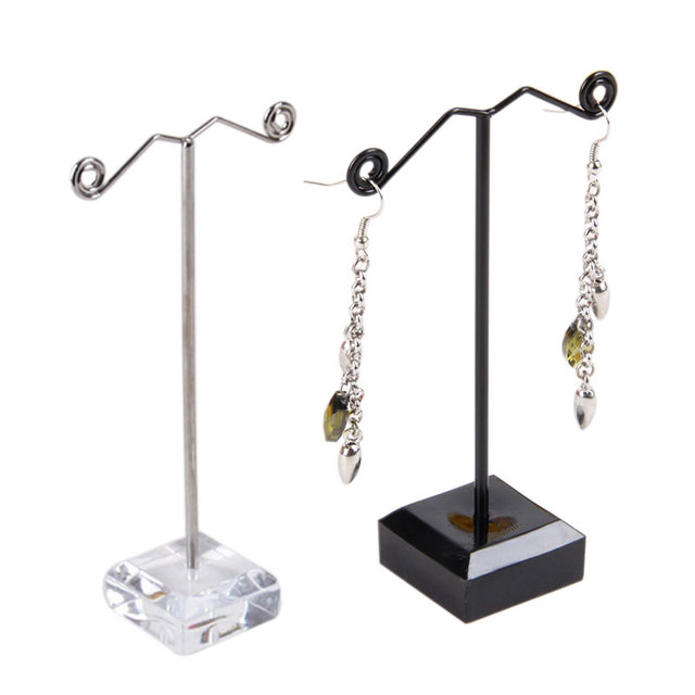 Metal Earring Display Stands Professional Jewelry Accessories Jewelry Display Stand Pedestal 11