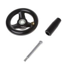 """3,"""" Диаметр ручного колеса с вращающейся ручкой для фрезерного станка L15"""