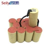 3000mAh for MAC ALLISTER 14.4V Ni MH Battery pack CD  for self-installation