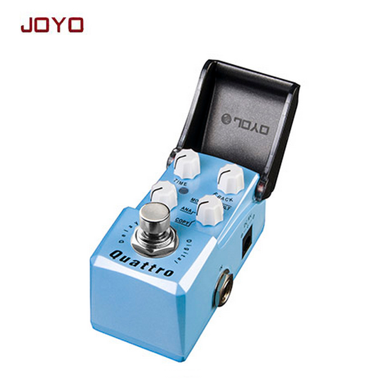 цена на JOYO IRONMAN digital delay guitar effect pedal guitarra stompbox 4modes:COPY/ ANALOG / MODULATION / FILTERED true bypass