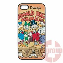 Funny Donald Duck For Samsung Galaxy S2 S3 S4 S5 S6 S7 edge mini Active Ace Ace2 Ace3 Ace4 Bags Cases