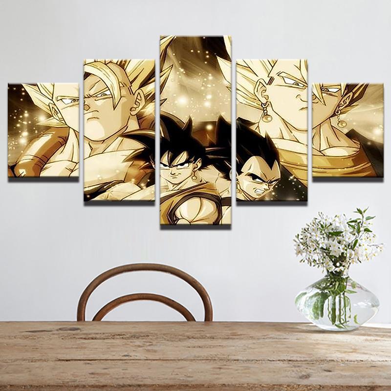 Goku Modular Dragon Poster 7