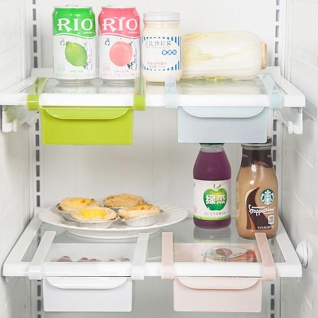 Aliexpress.com : Buy 4PCS Refrigerator Fresh Spacer Layer Multi ...