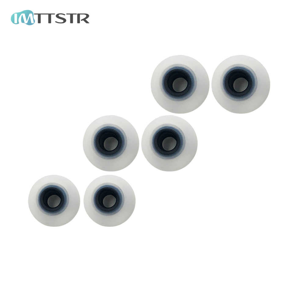 IMTTSTR Soft Silicon Ear Tip Cover Replacement Earbud Covers for SONY WI-H700 C600N C400 SP500 SP600N Earphones Sleeve