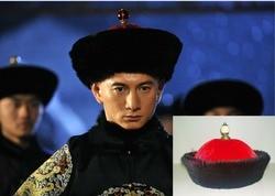 Multi-ontwerp Winter Bontmuts Qing-dynastie Hof Officier Hoed Keizer Hoed