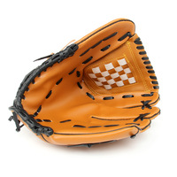Baseball Gloves New Portable Dark Brown Durable Men Softball Baseball Glove Sports Player Preferred 12 5