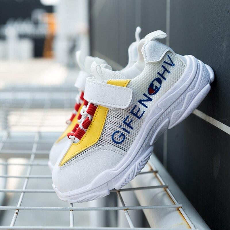 2018NAF1 обувь для детей для девочек кроссовки для мальчиков дышащие плоские спортивные кроссовки школьная детская мягкая повседневная обувь ...