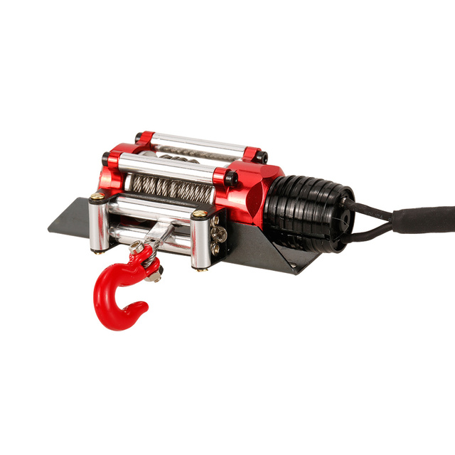 Metal Winch Traction for 1/10 RC Rock Crawler Traxxas HSP Redcat HPI TAMIYA CC01 Axial SCX10 RC4WD D90 RC Car 1:10 Accessories