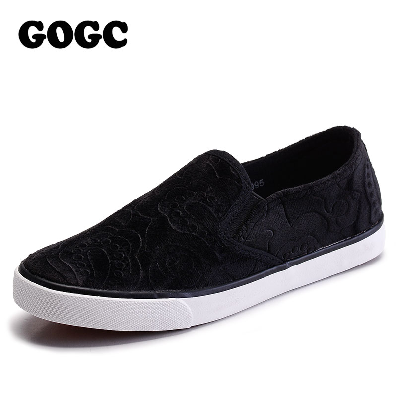 GOGC 2018 Brand Spring Summer Shoes Woman Flat Design Causal Shoes Comfort Women Slip on Shoes Ladies Footwear Women Sneakers