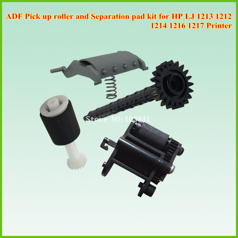CB780-60032 CB780-80008 ADF Pickup Roller Kit for HP LJ 1213 1212 1216 1217 Printer Separation pad kits  original new laser printer spare parts adf pickup feed roller assembly for hp 2820 2840 adf maintenance kits pickup roller