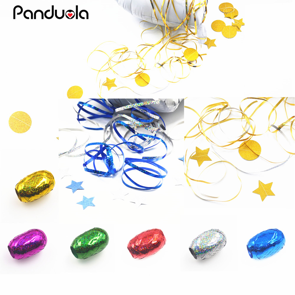 Balloons Ribbons Laser Ribbon Wedding Birthday Party Decoration DIY Accessories Valentine S Day Decoracion font b