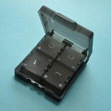 16 in1 Claro Protetora Dura de Plástico Caixa de Armazenamento Caso Titular Cartões de Jogo para Nintendo NDS NDSL NDSI 2DS Novo 3DS LL/XL 3 3DSXL/3DSLL 3