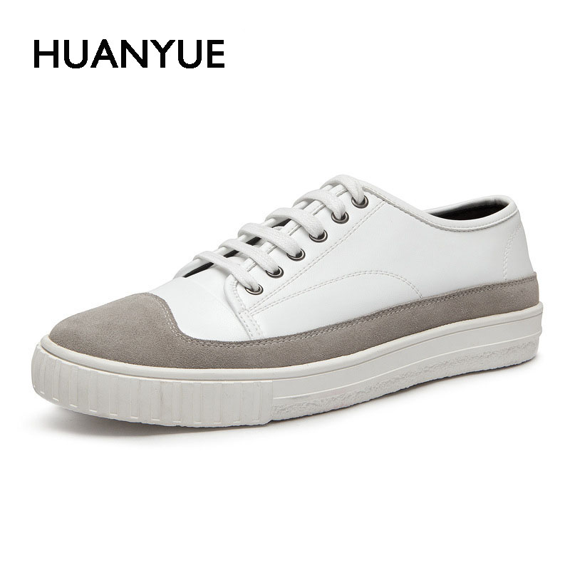 Spring/Summer New Men Casual Shoes Fashion White Man Shoes Low Leather Men Shoes Flat Breathable Lace UP Black Zapatillas Hombre 2016 spring and summer free shipping red new fashion design shoes african women print rt 3