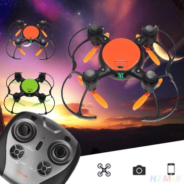 FX133 Mini 2.4 GHZ 4CH RC Quadcopter Drone RTF Control Remoto de Rotación de 360 Grados