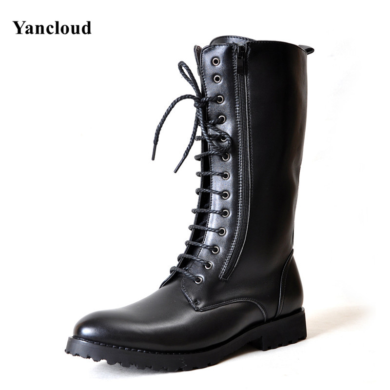 Thick Sole Motorcycle Boots Promotion-Shop for Promotional Thick ...