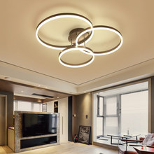 Lican Lustre De Plafond Moderne Modern Ceiling Lights LED Lamp For Hallway Living Room Bedroom Round Circle Luminaire Plafonnier