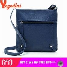 1a2e51bc6c36 Yogodlns дизайнерские женские сумки-мессенджеры женская сумка-мешок кожаная  сумка через плечо сумка-