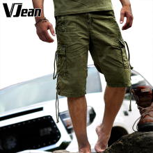 Men's Casual Style Military Cargo Shorts bermuda Shorts  Summer 2015 Overall Squad Match Trousers Plus size Short