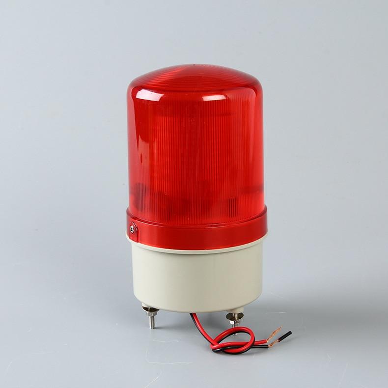 Outdoor LED Strobe Flashing Lamp Blinker Alarm Light Emergency Beacon For Shutter Door Gate Opener Motors(no Sound)