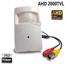 1080P Mini AHD camera 3.7mm lens 2000TVL 2.0megapixel PIR Camera CCTV pinhole security camera indoor AHD mini camera ahd kamera