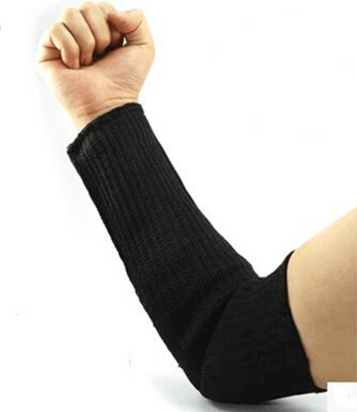 Steel Wire Cut Proof Arm Sleeve Guard Bracer Anti Abrasion Armband Protector