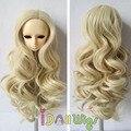 Французский вьющиеся волосы красивые кудрявые парики для 1/3 1/4 1/6 bjd куклы