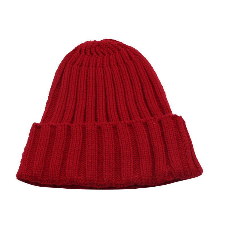 قبعة صوف رجالي دافئة 12