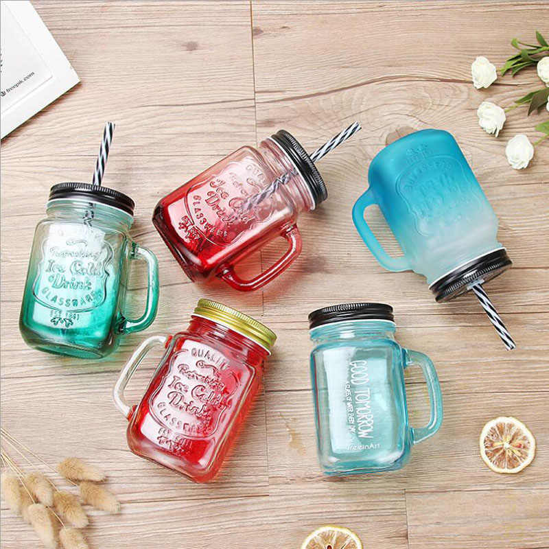 Mason Jar Glass Mason Mug For Wedding Anniversary Birthday Party Decor Custom Name And Special Dates Couple Diy Jars Cup S108c Beer Steins Aliexpress