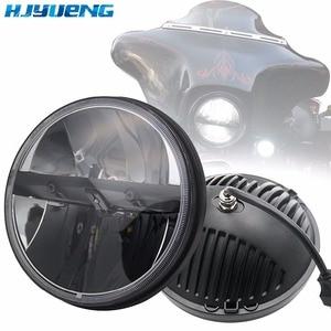 Image 1 - Faros LED de 36w para Lada 4x4 urban Niva 7 pulgadas 7 pulgadas 7 pulgadas faros delanteros LED con adaptador H4 a H13 para Jeep Wrangler