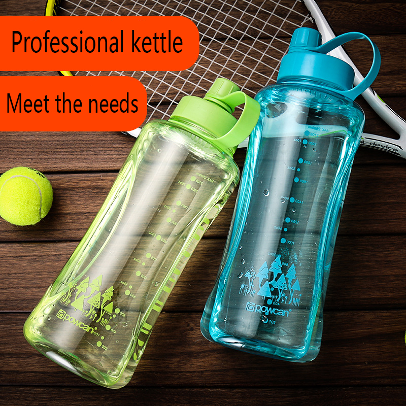 Super Large Capacity Sport Water Bottle Portable Plastic Bicycle Water Bottle Leak Proof BPA Free 2500ml 2000ml Water Drinkware in Water Bottles from Home Garden
