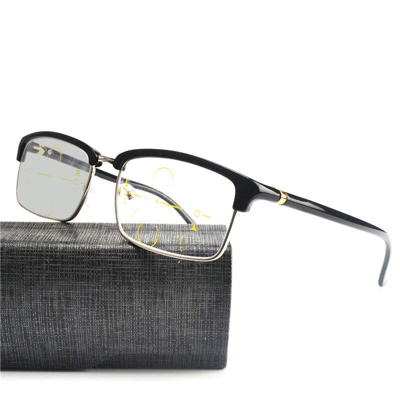 Progresiva Gafas transición Gafas de sol fotocromáticos Gafas para leer  para hombres mujeres presbicia gafas dioptrías Gafas FML en Gafas de lectura  de ... 4ecd8b0026ed